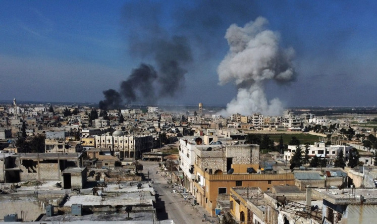 Image result for Syria war: 33 Turkish troops killed in air strike in Idlib