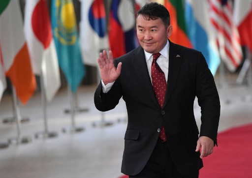 Mongolian president placed under quarantine after returning from China, state media ULAA