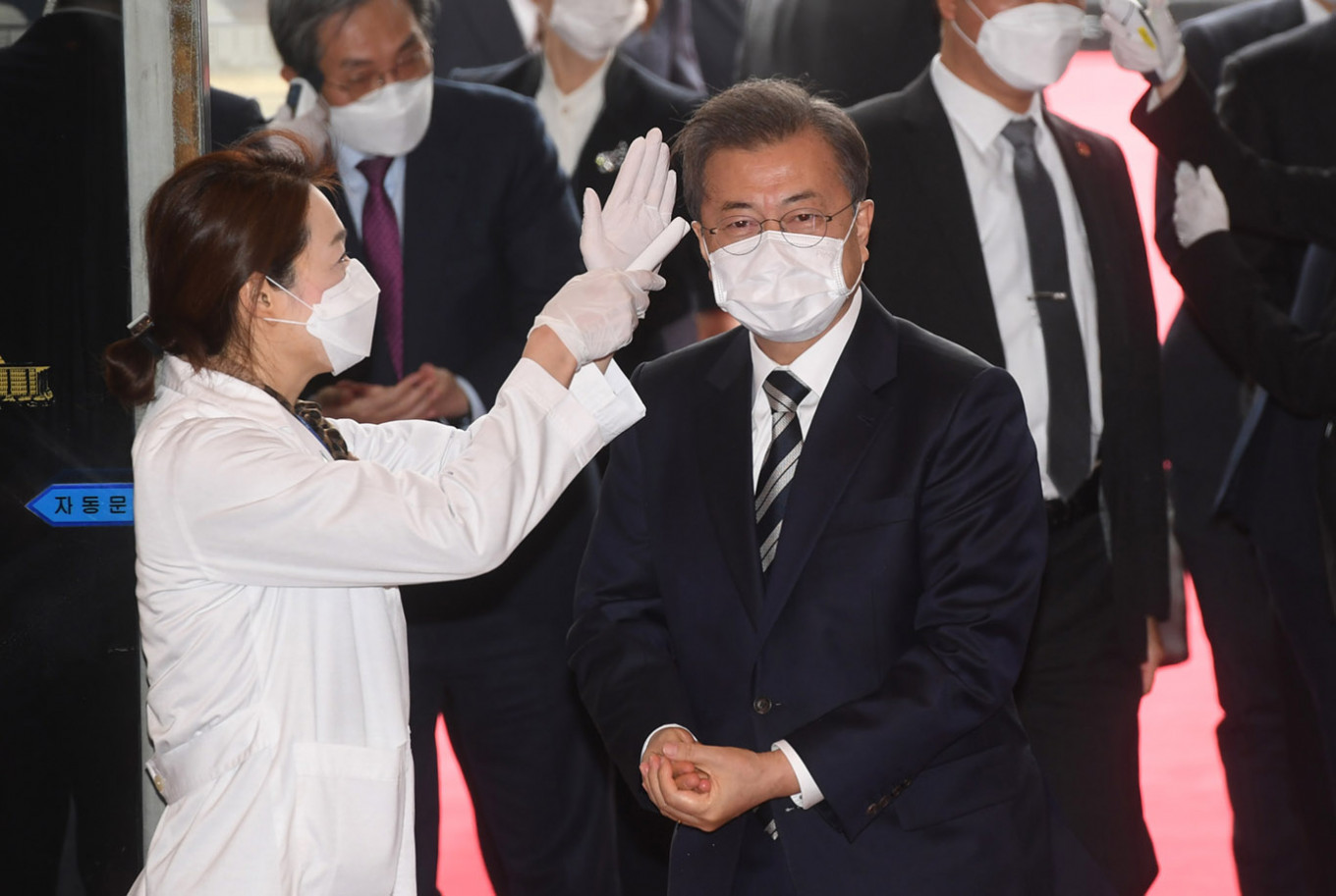 South Korea reports 376 more coronavirus cases, total 3,526