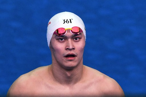 China's Olympic swimming champion Sun Yang banned for eight years