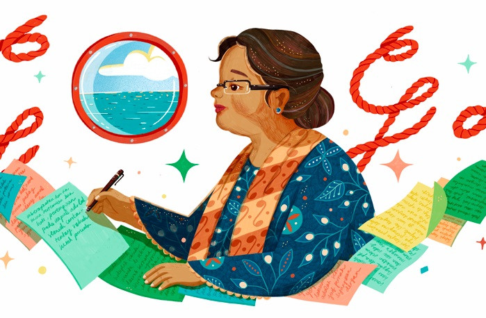 Google Doodle celebrates 84th birthday of literary legend NH Dini