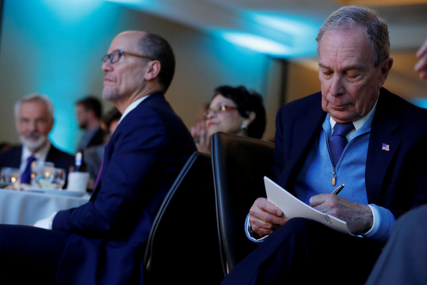 Bloomberg in South Carolina: Not on the ballot and not liked
