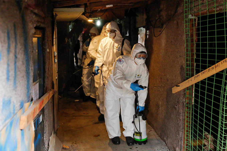 South Korea declares new 'special care zone' as coronavirus spreads