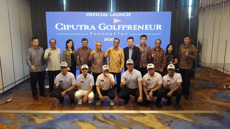 Indonesian golfers gain career, skill boost through Ciputra golfpreneur foundation