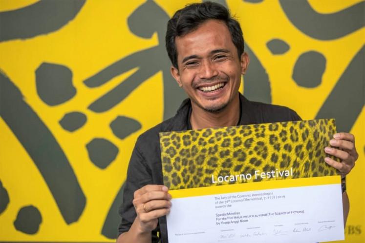Recognition: Yosep Anggi Noen's film
