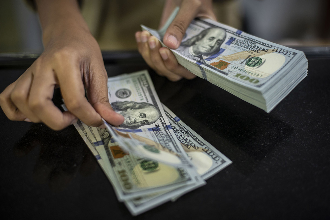 Rupiah inches closer to 15,000 over fears of COVID-19 pandemic