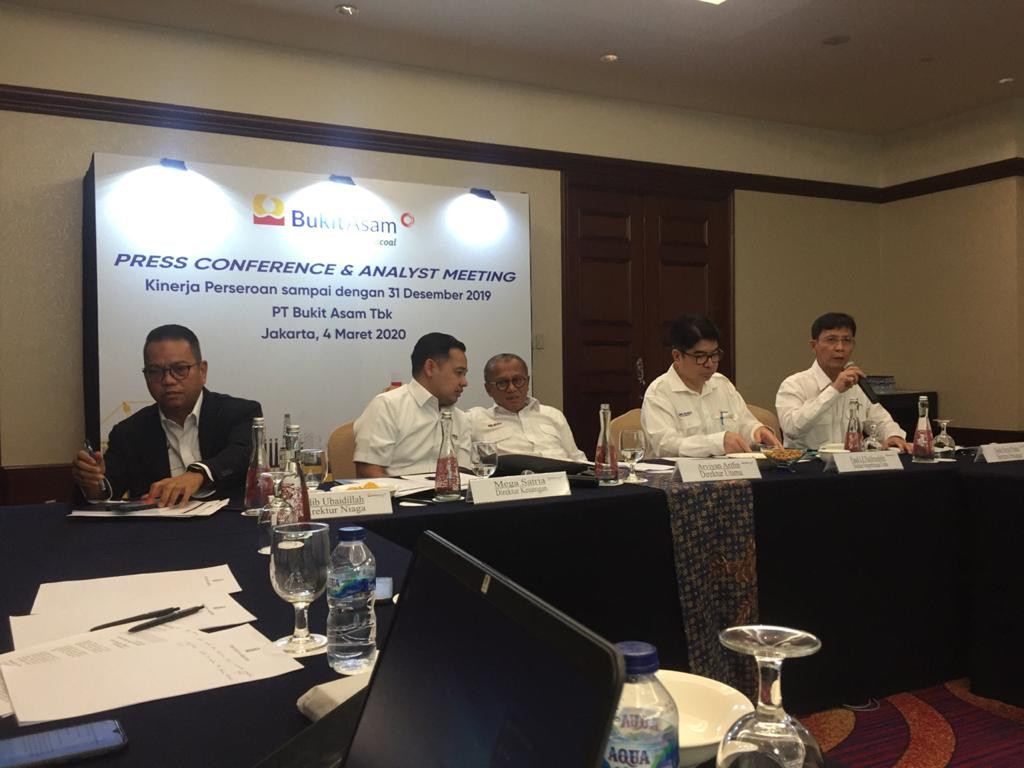 Coal miner Bukit Asam to invest Rp 4t this year, mostly on infrastructure