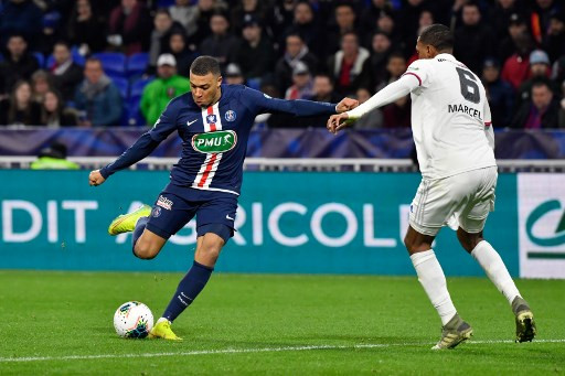 Mbappe treble fires PSG into French Cup final