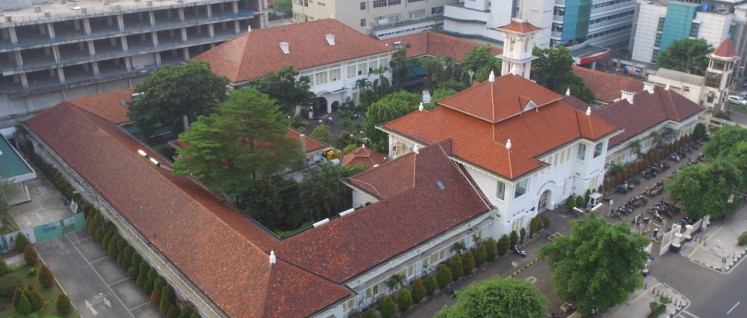 The building of Eijkman Institute in Jakarta