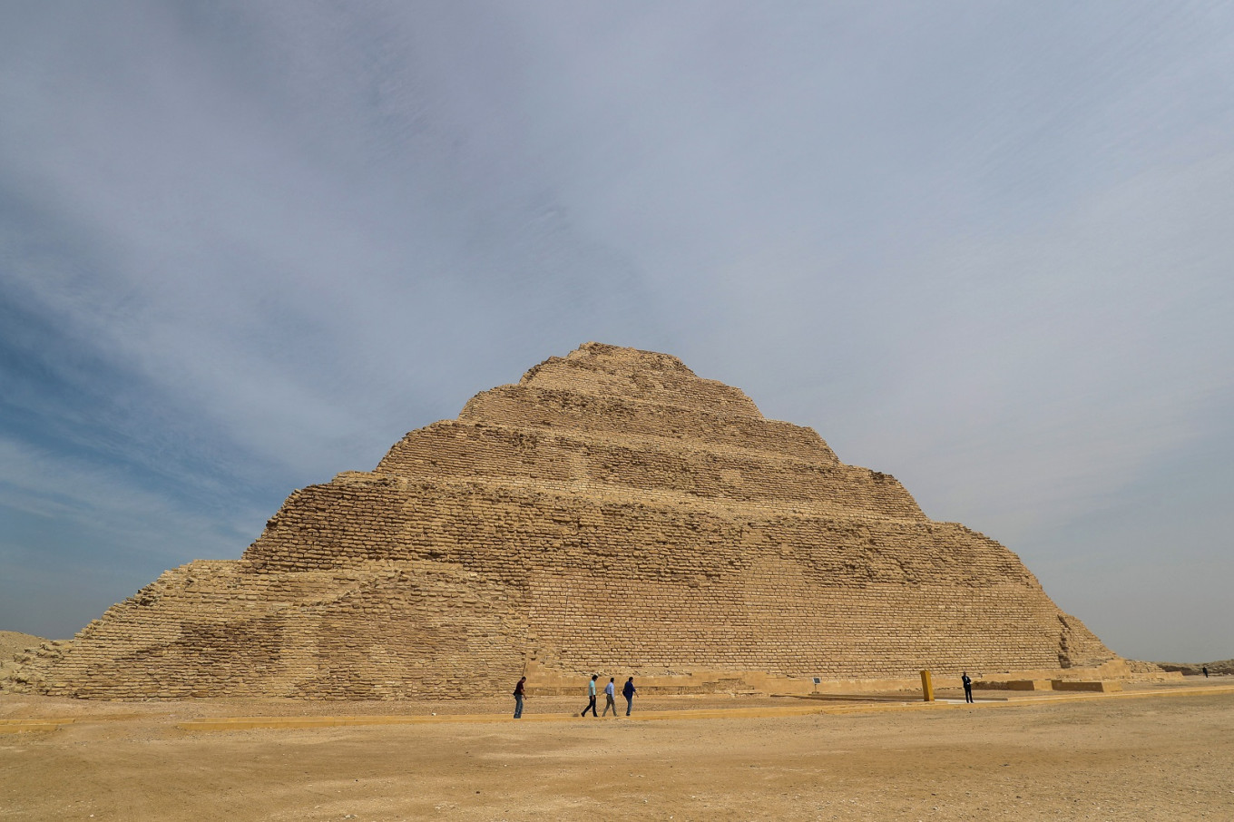 Egypt reopens ancient step pyramid after renovations