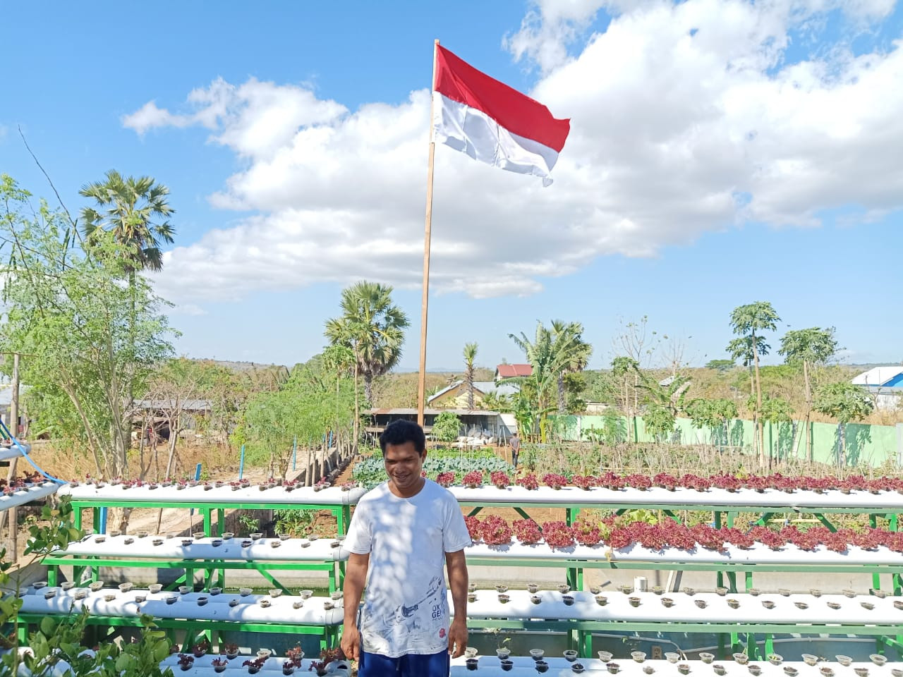 Young NTT farmers pin hopes on microcredit program to expand their agriculture business