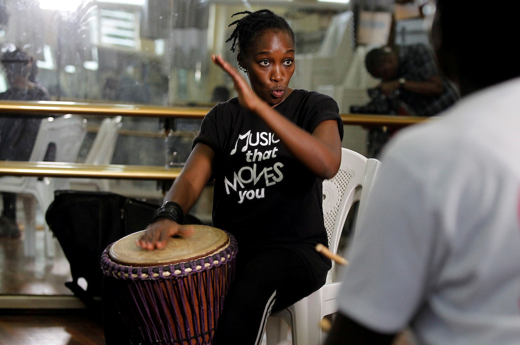 Marching to the beat of her own drum: Kenyan breaks gender taboo