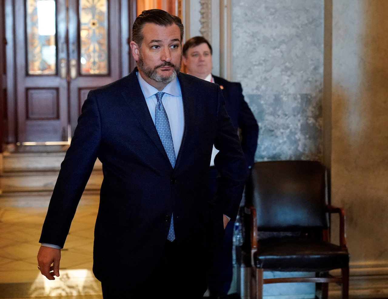 US Senator Cruz self quarantines after contact with coronavirus carrier