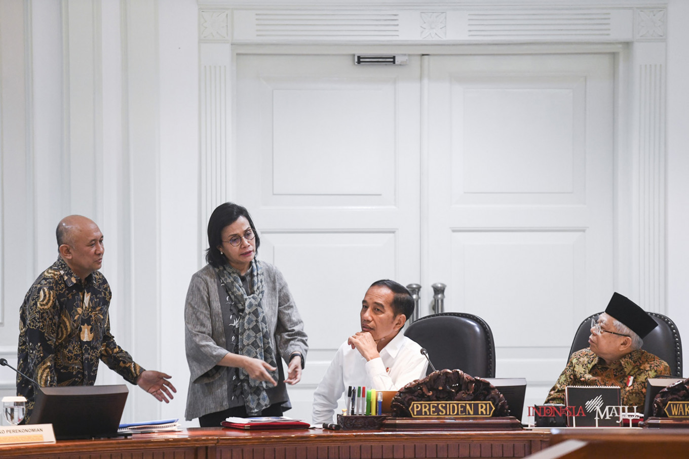 In fight against COVID-19, Jokowi taps VP to deal with what he knows best: Religion