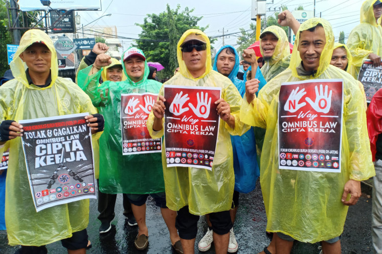Indonesia Delays Deliberations Over Labor Issues In Omnibus Bill Amid Backlash Business The Jakarta Post