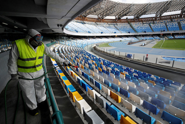 Italy's top sports body calls for all events to be cancelled until April 3