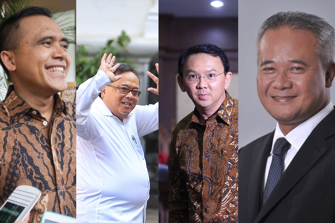 Ahok among four new capital 'CEO' candidates handpicked by Jokowi