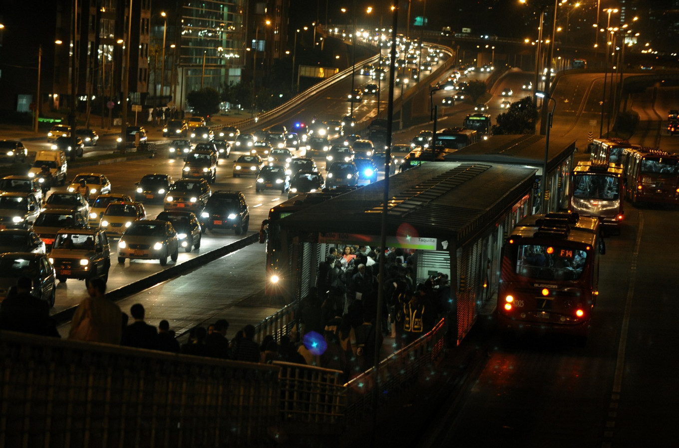 Latin American and European cities dominate list of world's most congested cities