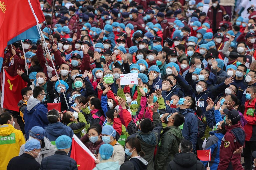 As world cowers, China glimpses coronavirus aftermath