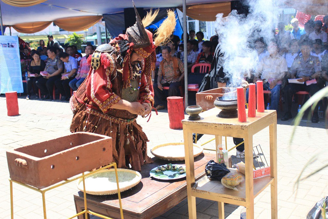 Native faith believers in North Sulawesi celebrate freedom of religion