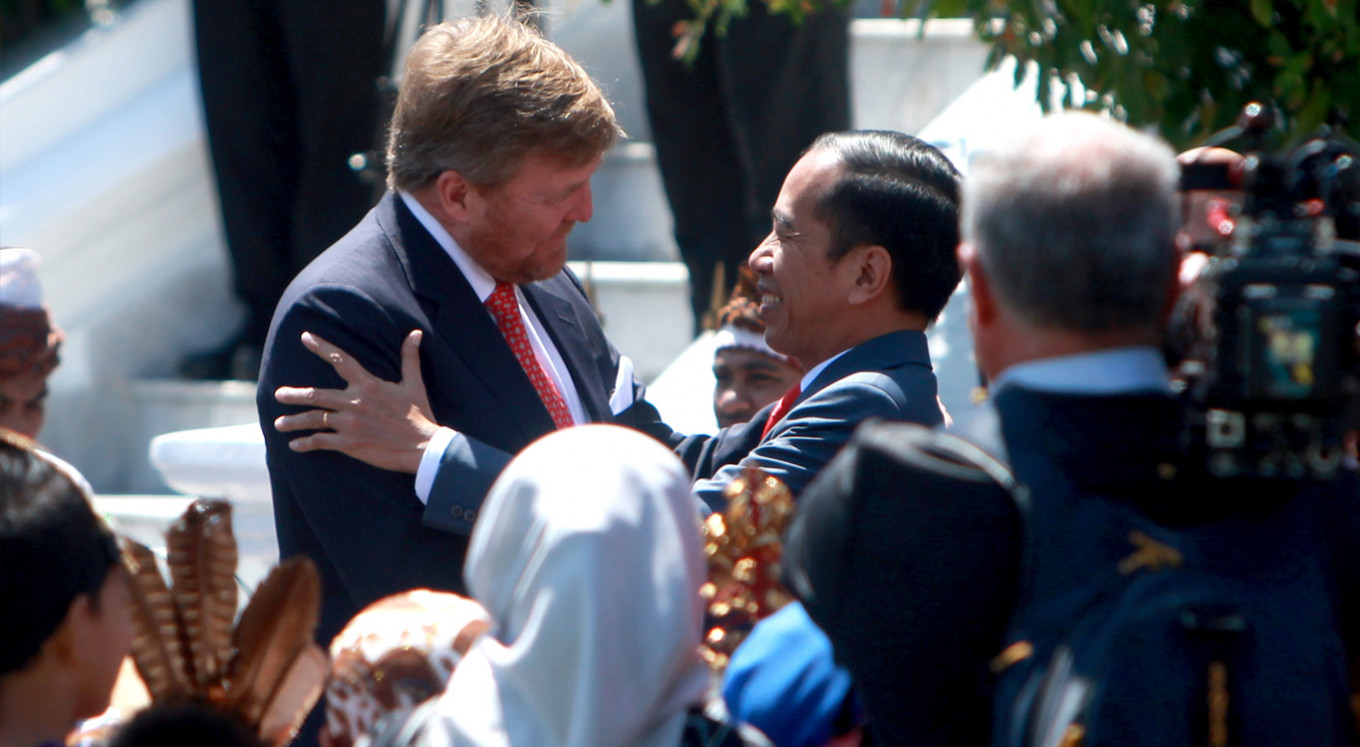 Dutch king apologizes for violence during the Indonesian independence war