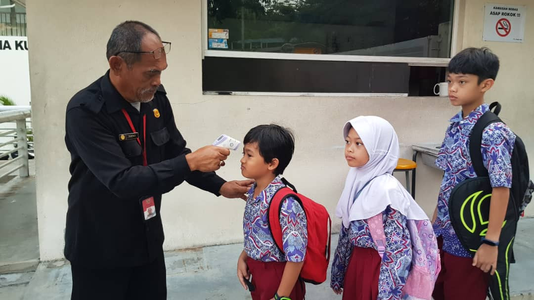 COVID-19: Indonesian school in KL starts screening temperature of students, staffers