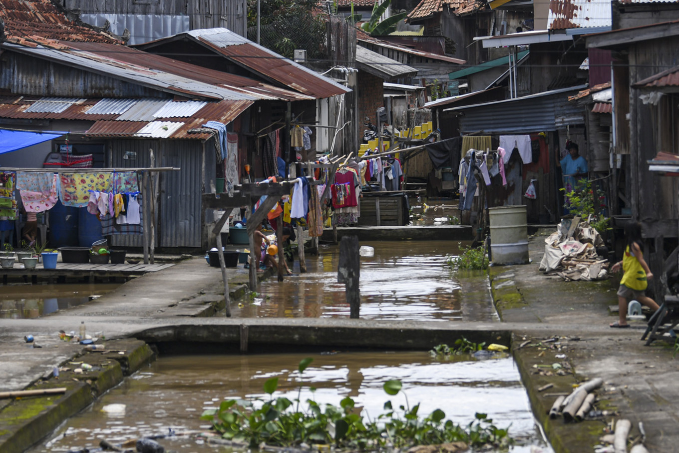 Pandemic hits Indonesia's push for inclusive growth: Bappenas