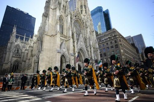 New York postpones St Patrick's Day parade over coronavirus fears