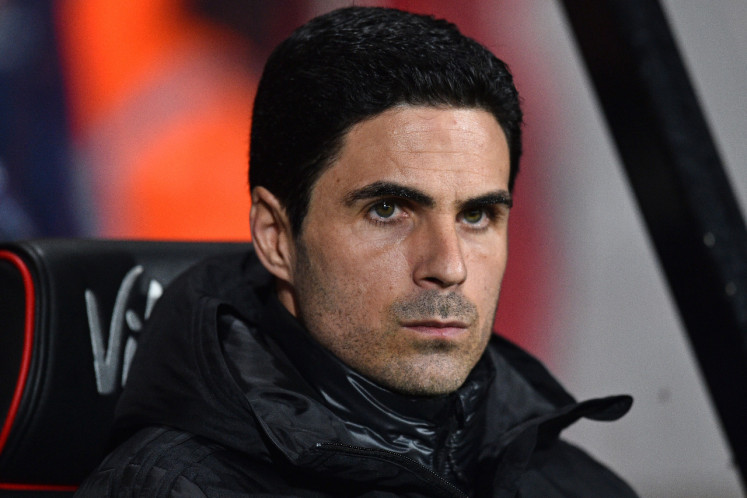 Arteta rues Arsenal's wasted chances in loss to Leicester City