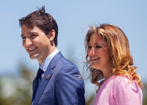 Canada PM working from home as wife tested for COVID-19