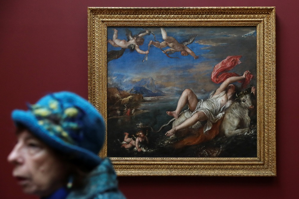 After 400 years, London show reunites six masterpieces by Titian