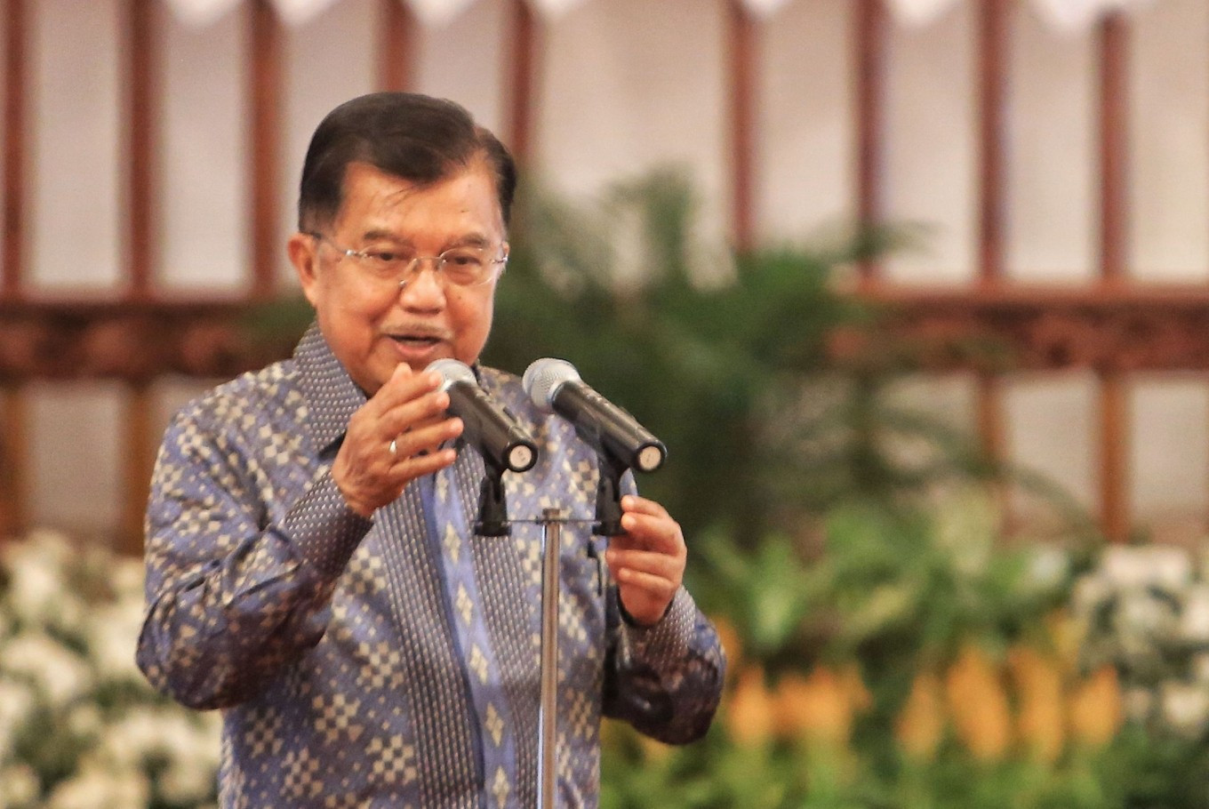 [DISCOURSE] 'Gotong royong' key to human fraternity: Former VP Kalla