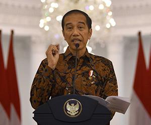 Jokowi urges ministers to focus budget on health care, social aid, economic stimuli