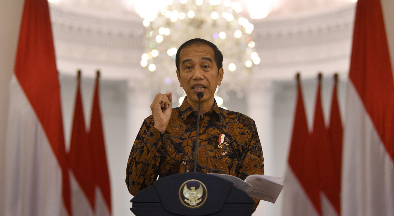 Jokowi hints at raising budget deficit cap to aid Indonesia's COVID-19 fight