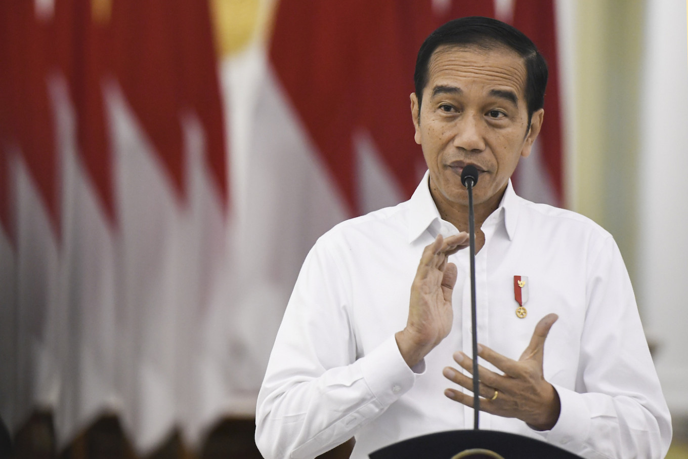 Indonesia starts rapid tests, imports medicines to 'cure' COVID-19, Jokowi says