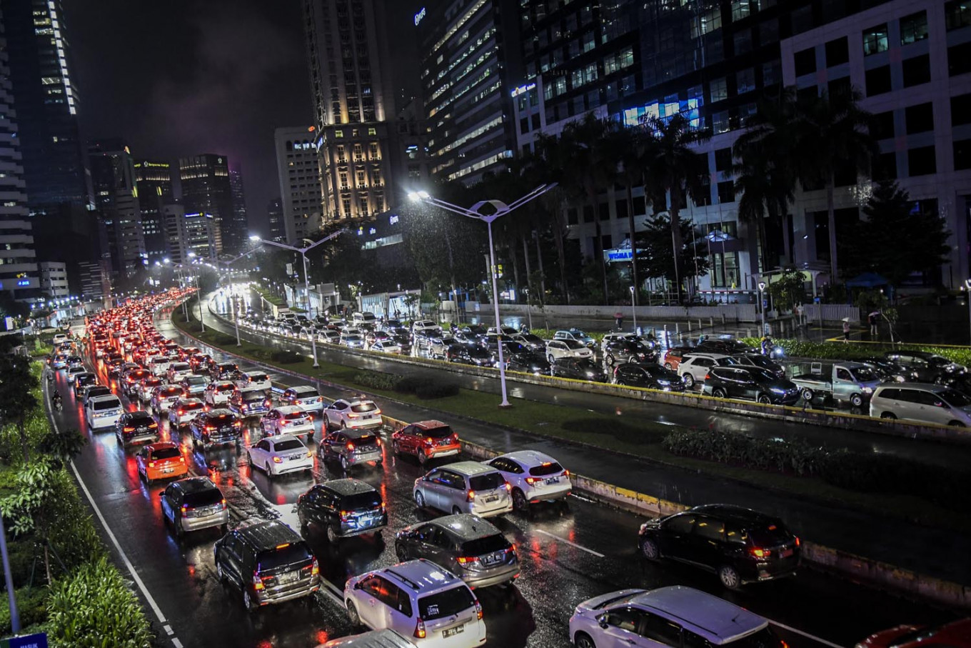 Jakarta to lift odd-even policy with return of PSBB