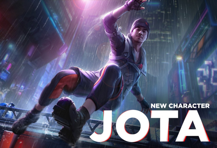 Joe Taslim's Jota character