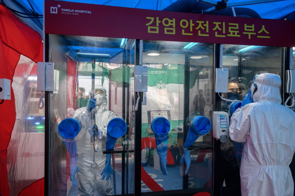 South Korea coronavirus cases rise steadily