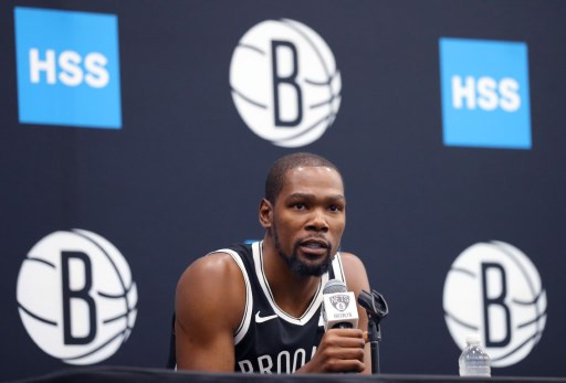 Durant fined $50,000 by NBA after apology for actor tirade