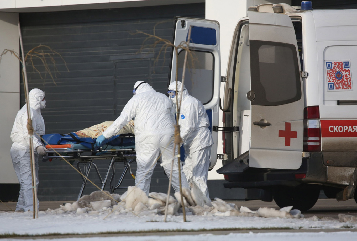 Image result for russia coronavirus first death