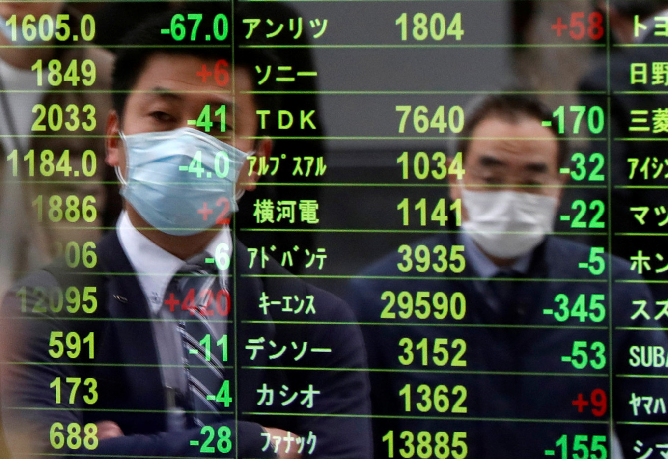 Stocks under pressure as Trump vows to end violent protests