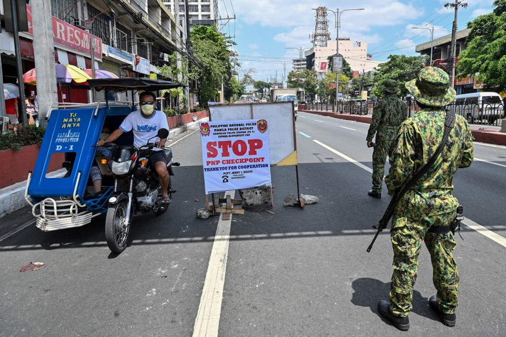 Philippines extends lockdown on main island until end of the month