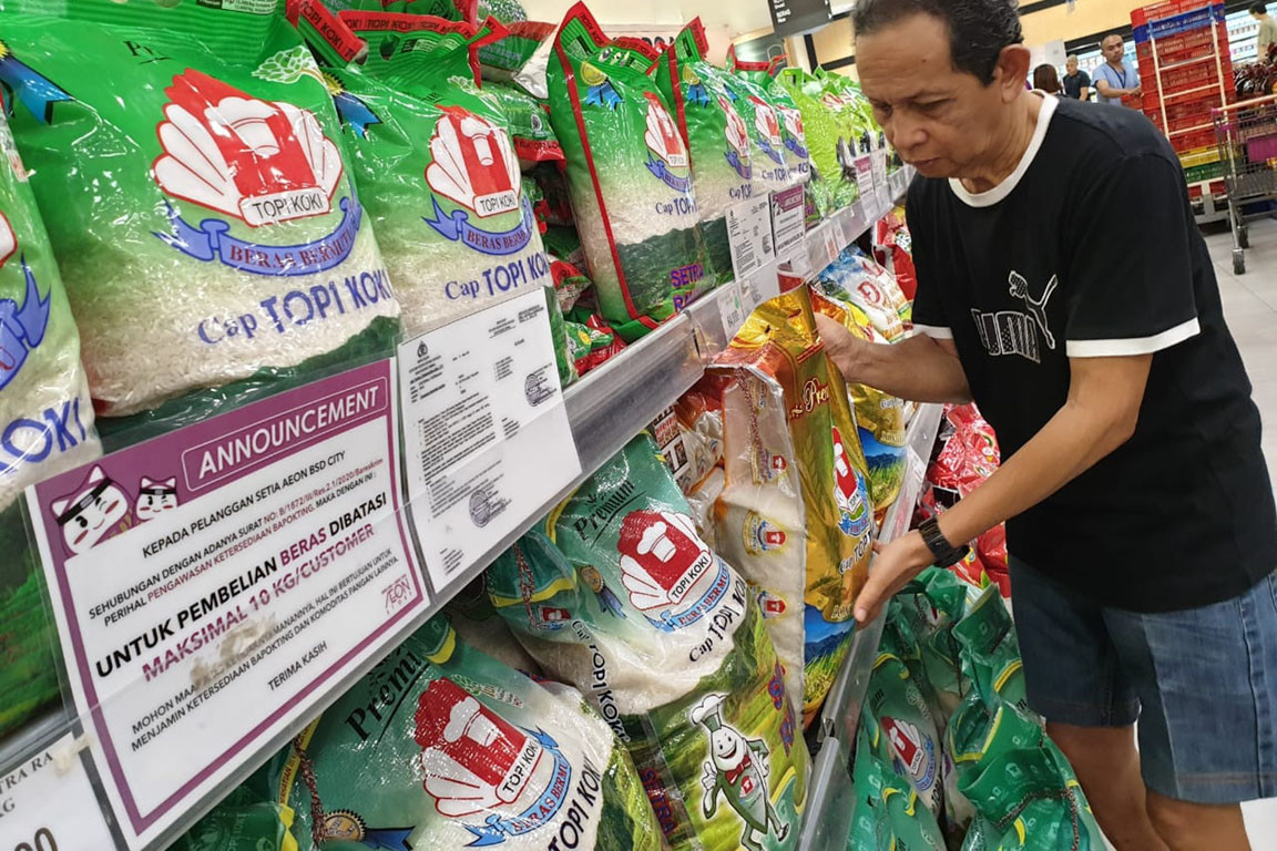 Bulog asks for additional Rp 10 trillion to buy rice