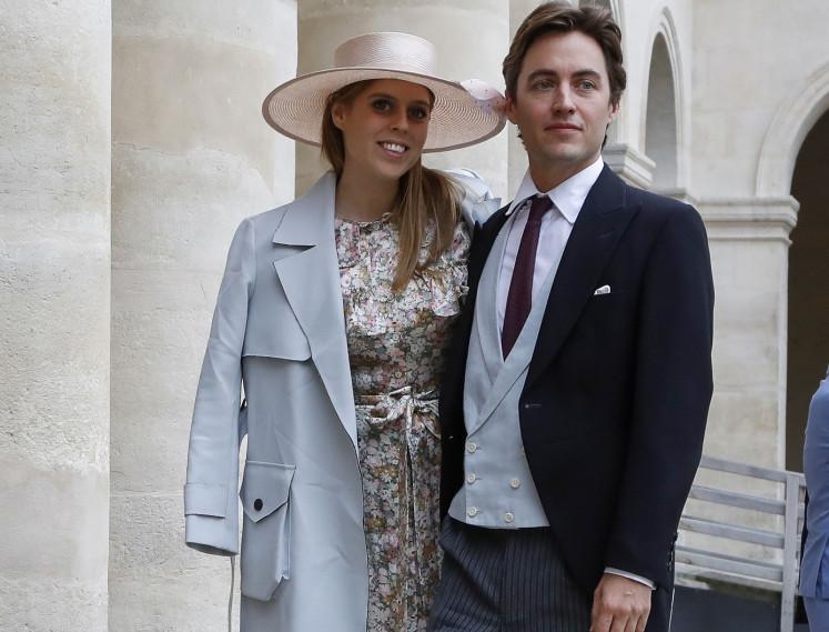 Britain's Princess Beatrice cancels wedding amid coronavirus: Media reports