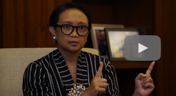 Indonesia calls for cooperation as countries close borders