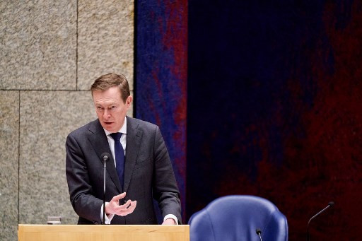 'Exhausted' Dutch minister quits after coronavirus debate collapse
