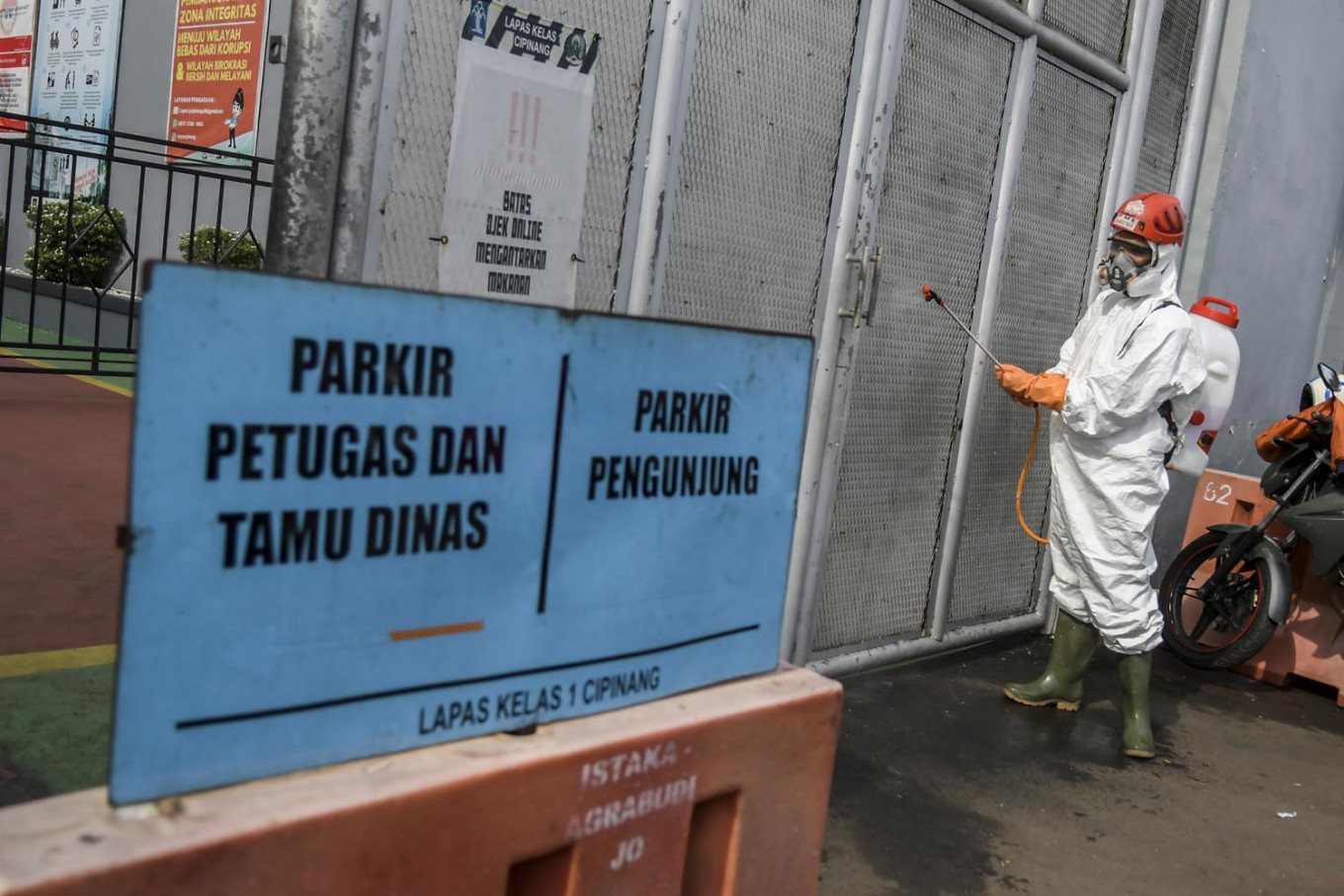 Korea, Red Cross help curb spread of COVID-19 in Indonesian prisons