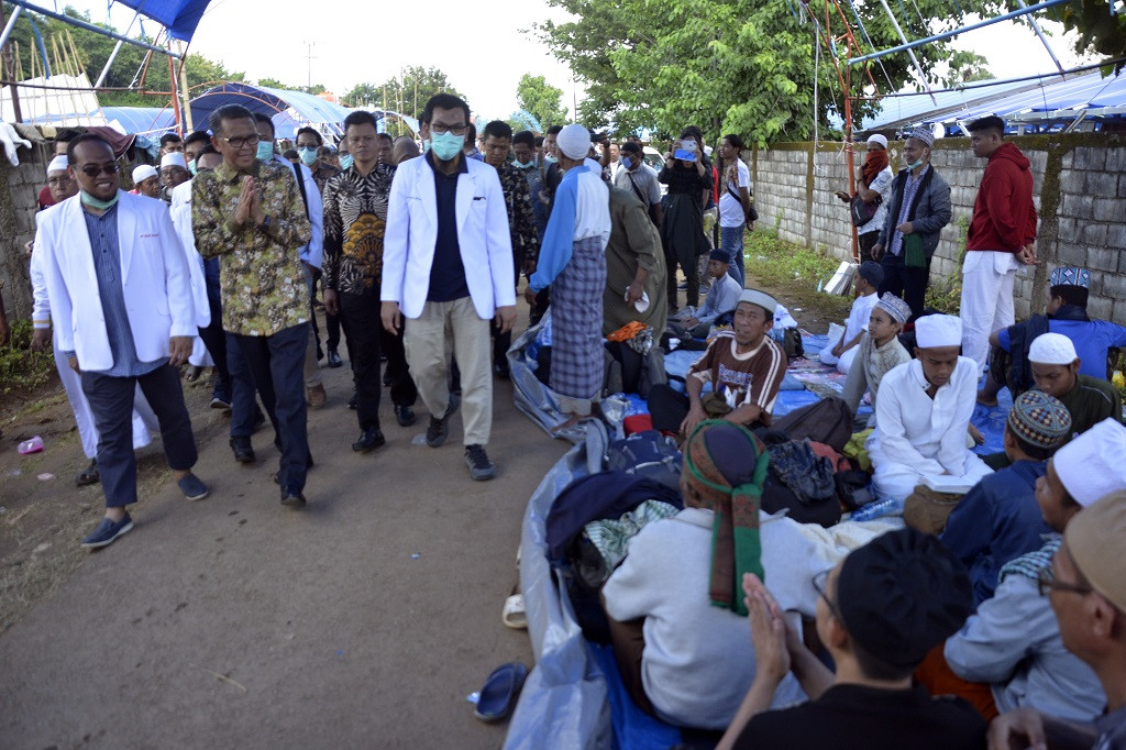 'It shows that we're working', South Sulawesi governor says of surge in COVID-19 cases