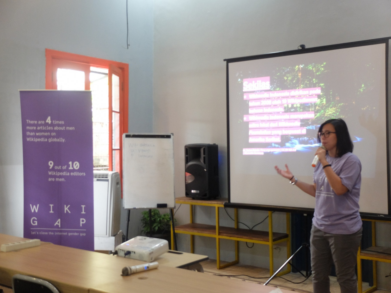 WikiGap enhances women's representation in digital technology