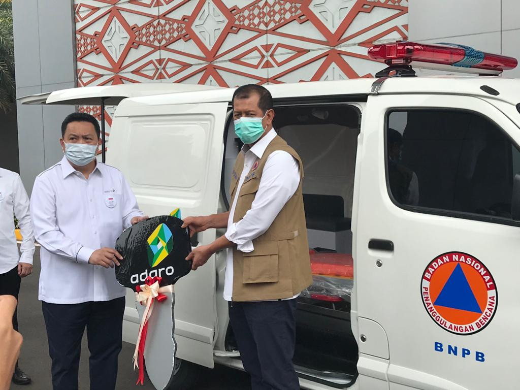 Adaro donates Rp 20b to Indonesia's fight against COVID-19